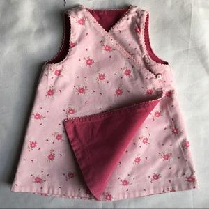Gap jumper size Newborn NWT pink reversible baby